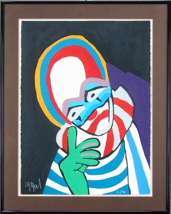 12: Karel Appel (1921-2006) Dutch