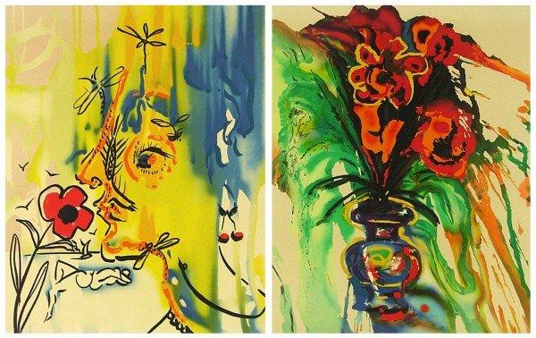 67: Salvador Dali (1904-1989) Spanish (two)