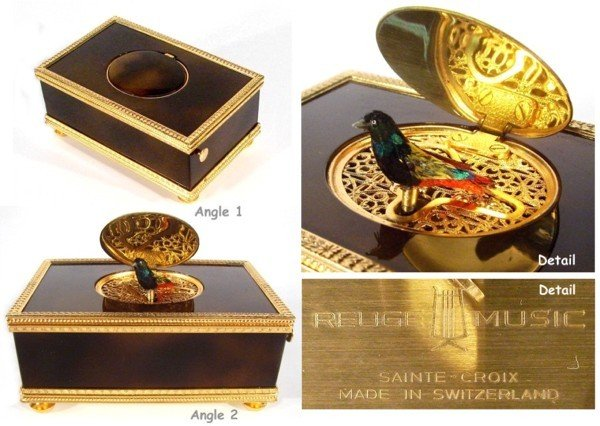 105: Decorative Arts: Reuge Musical Box