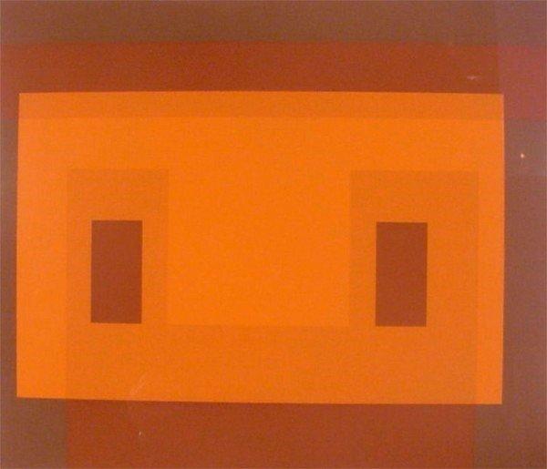 3: Joseph Albers (1888-1976) German