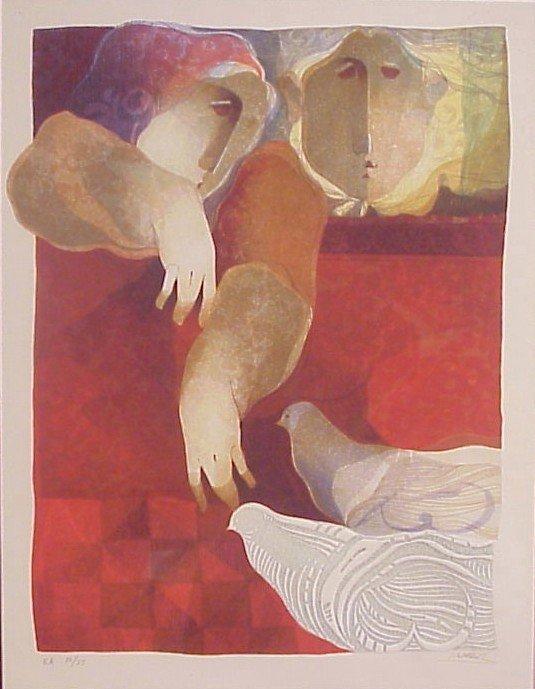 5: Sunol Alvar (b. 1935) Spanish