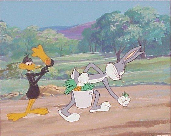 8: Animation Cel: Bugs Bunny