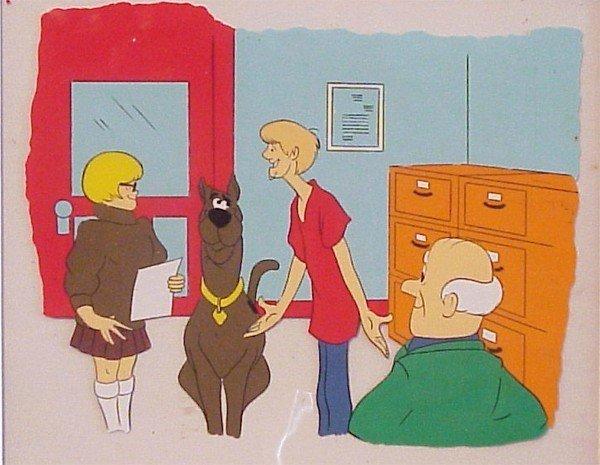 12: Animation Cel: Scooby Doo