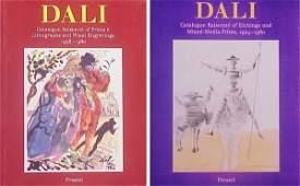 74 Art Books Salvador Dali two