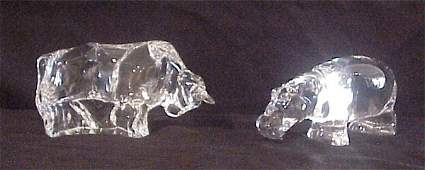 97: Baccarat Crystal (two)