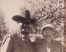 202 John Wayne signed