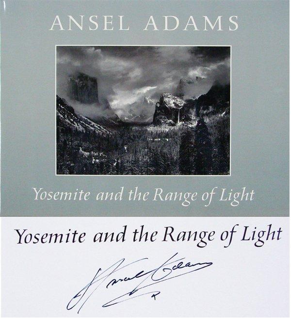 25: Art Book: Ansel Adams (signed)