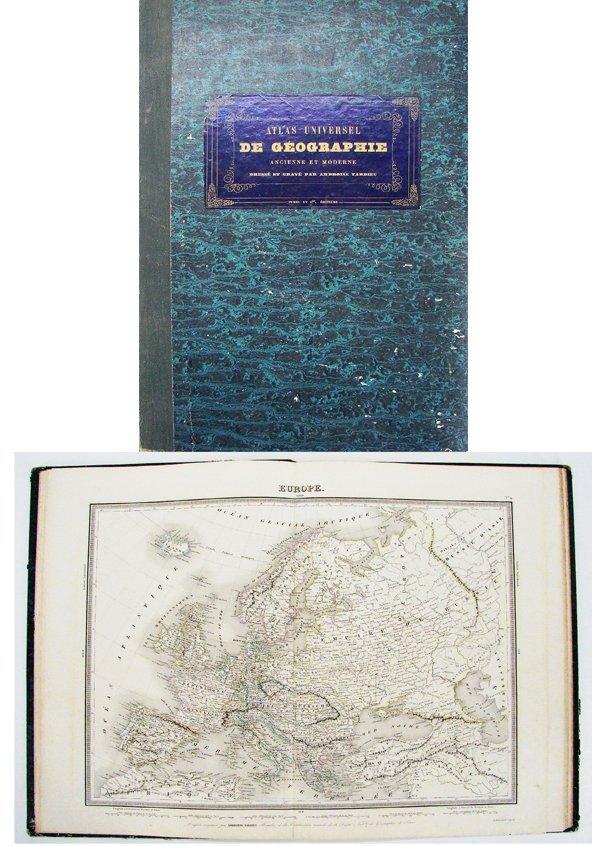 28: 19th Century Atlas: Universel de Geographie, engrav
