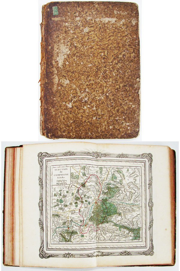 29: Book: Atlas of Paris (17th/ 18th Century)