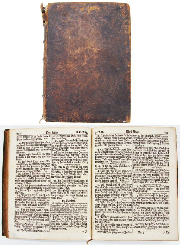 31A: Book: 18th Century German Bible