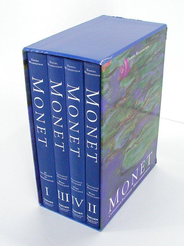 32: Books: Claude Monet Catalogue Raisonne