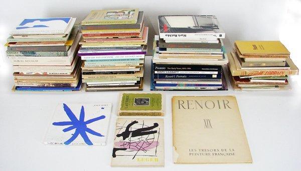 34: Books: Art Monographs (one hundred & twenty-two)