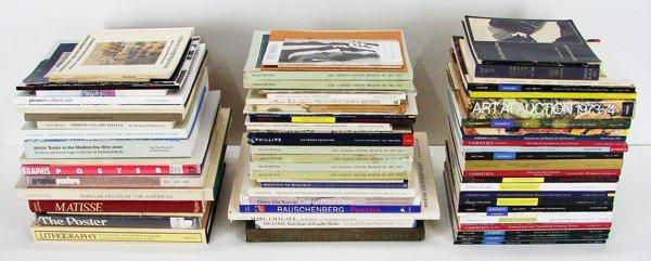 36: Books: Prints, Posters & Auction catalogs (seventy)