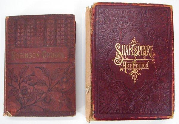 37: Books: Robinson Crusoe, Shakespeare (2)