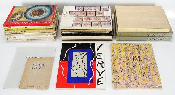 40: Books: Verve (4), Miro (1) & others (twenty-nine)