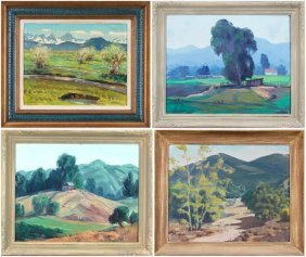 Jan Domela (1894-1973) American, Weiser & Californi
