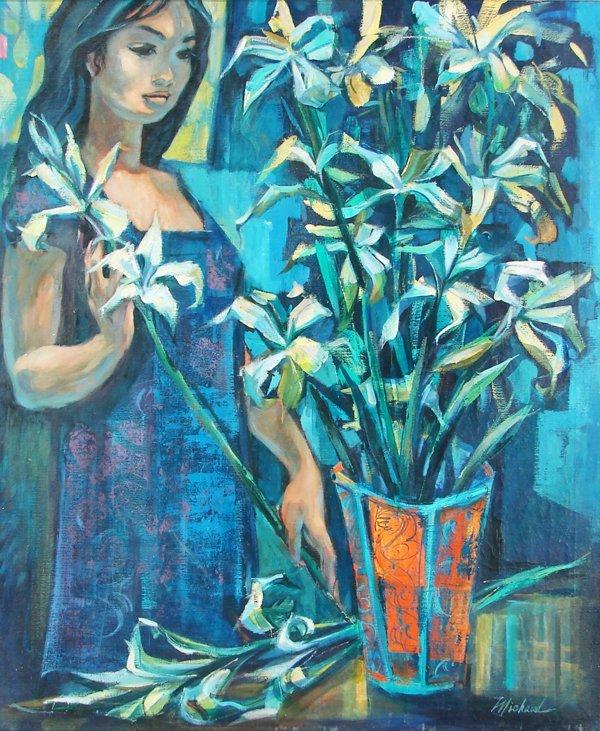 156: George Michaud (b. 1929) American