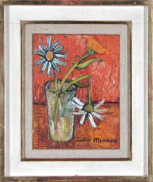 158: Andre Minaux (1923-1988) French