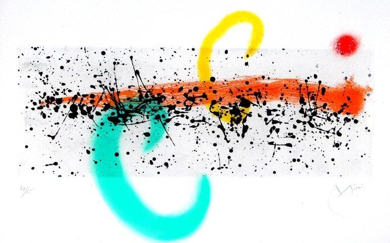 159: Joan Miro (1893-1983) Spanish