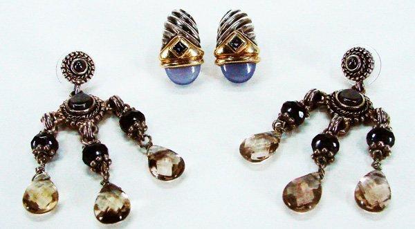 81: Fashion: David Yurman Earrings & Saks Fifth Avenue