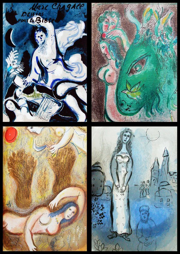 30: Marc Chagall (book with 25 lithographs)