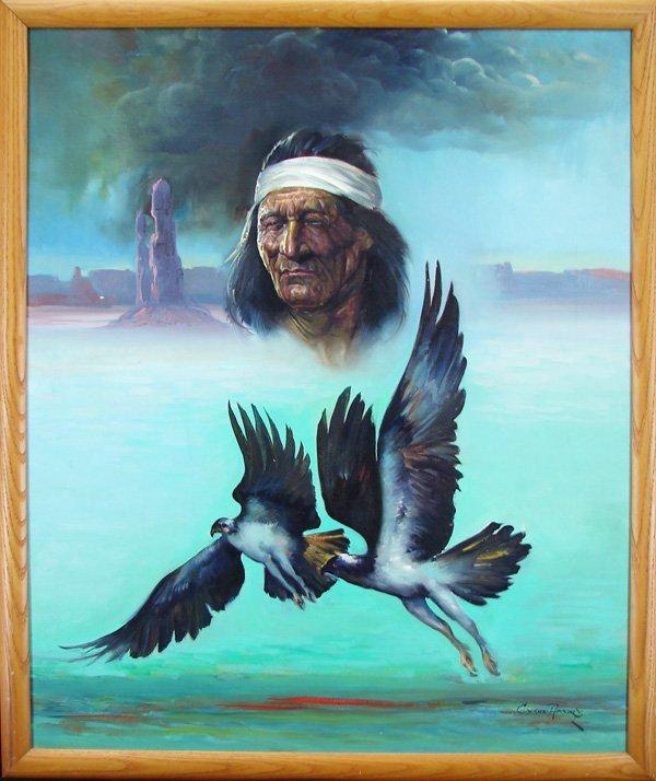 4: Cyrus Afsary (b. 1940) Native American