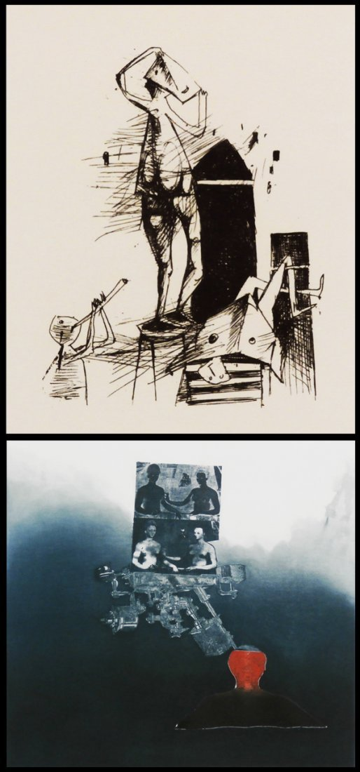 17: Yosl Bergner (b. 1920) Israeli & Maty Grinberg