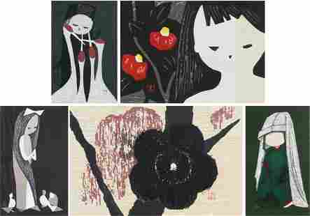 117: Kaoru Kawano (1916-1965) Japanese (six)