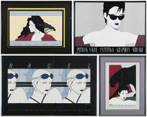 Patrick Nagel (1945-1984) American (four)