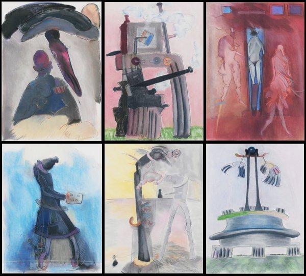 Artist unidentified (20th/ 21st Century) (six)