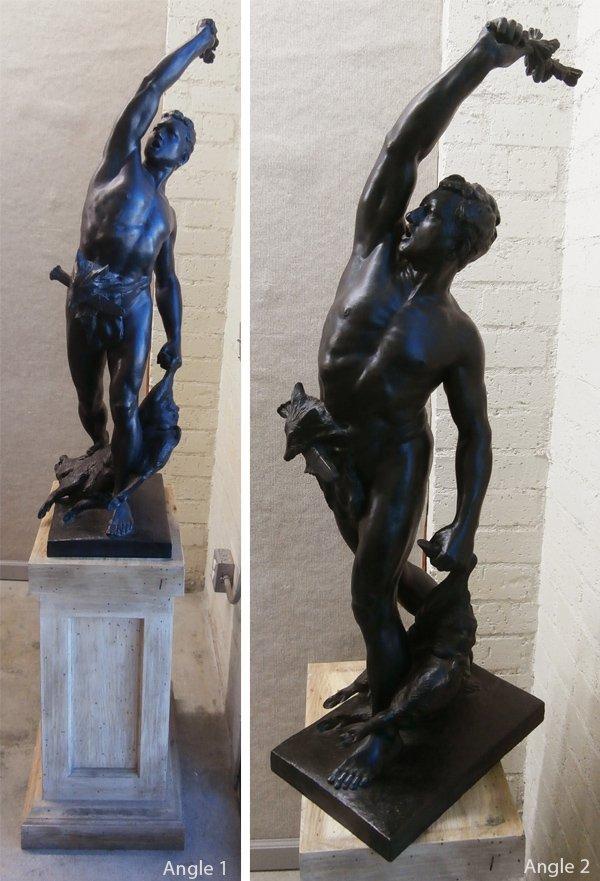 Bronze sculpture (19th or 20th Century)