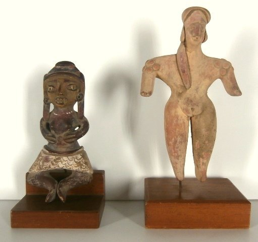 Antiquity Figurines (two)