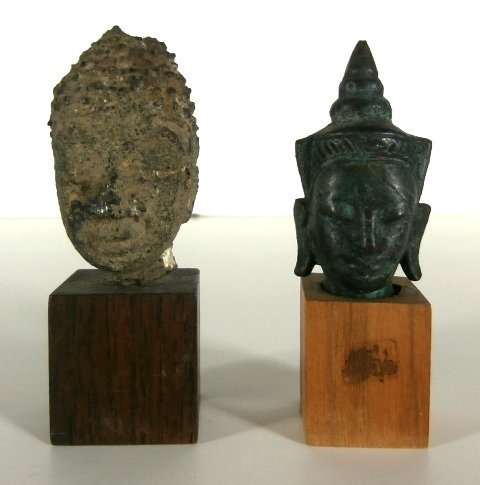 Asian Art (17th/ 18th Century?) (two)