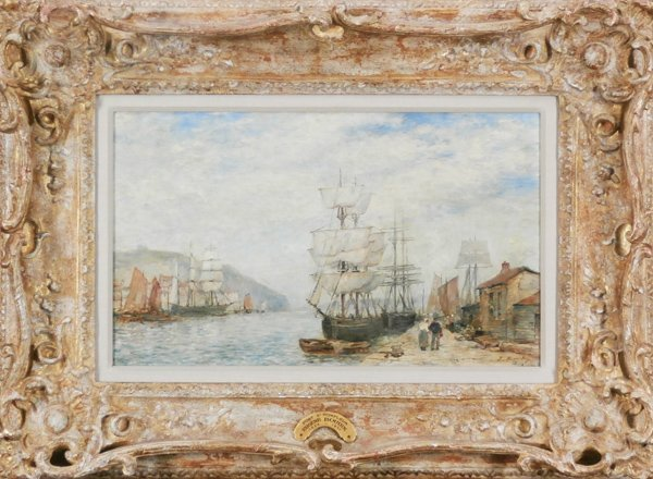 attributed to Eugene Boudin (1824-1898) French
