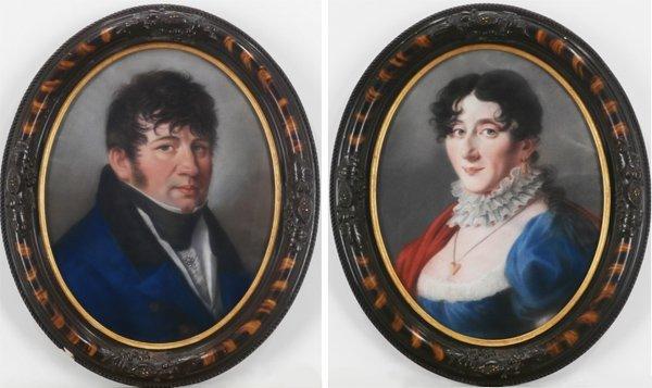 19th Century Artist (two)