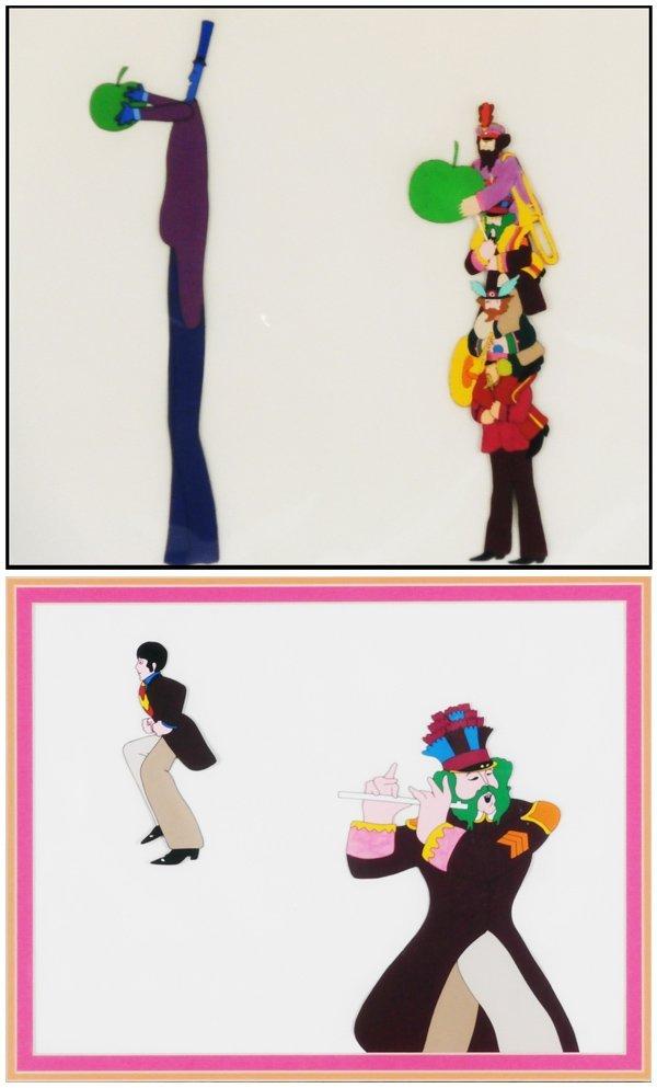 Animation Art: Beatles/ Yellow Submarine (two)