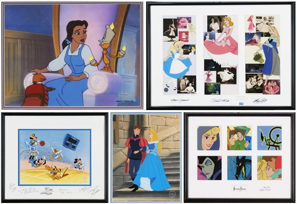 Animation Art: Disney Studios (five)
