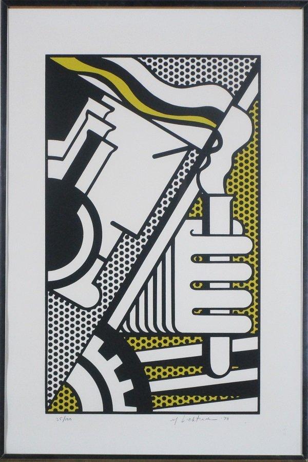 Roy Lichtenstein (1923-1997) American