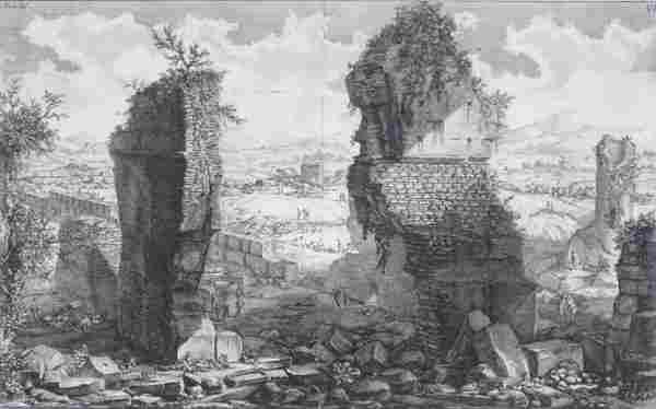 Giovanni Battista Piranesi (1720-1778) Italian (two)