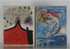 Art Books Joan Miro  Marc Chagall two