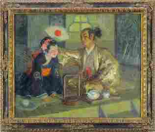 Charles Constantine Hoffbauer (1875-1957) French/