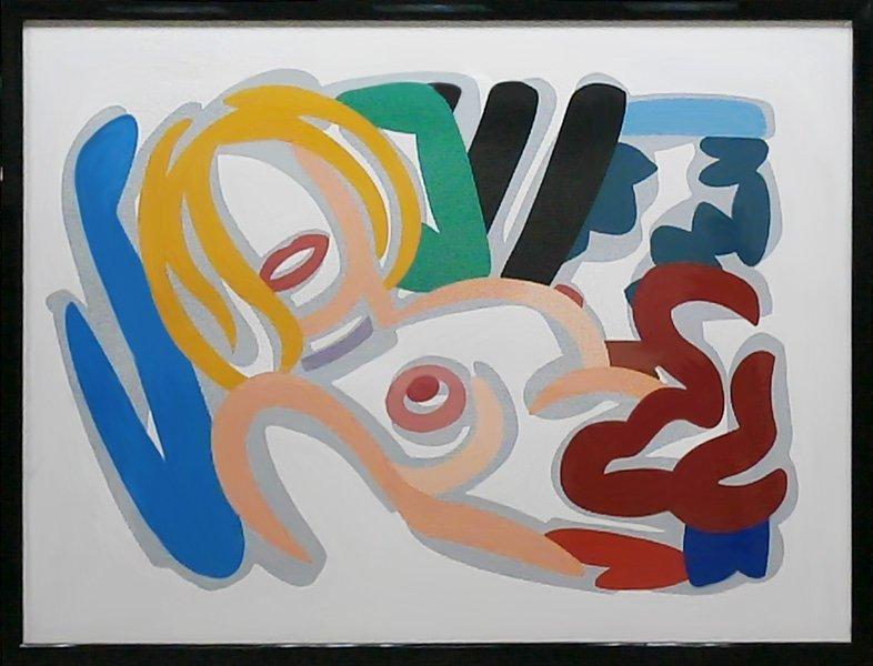 Tom Wesselmann (1931-2004) American