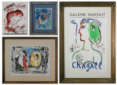 Marc Chagall (1897-1985) Russian/ French (four)