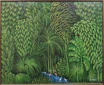 Henri Robert Bresil (1952-1999) Haitian