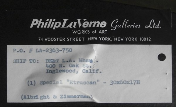 Laverne Furniture Company: Philip & Kelvin LaVerne - 4