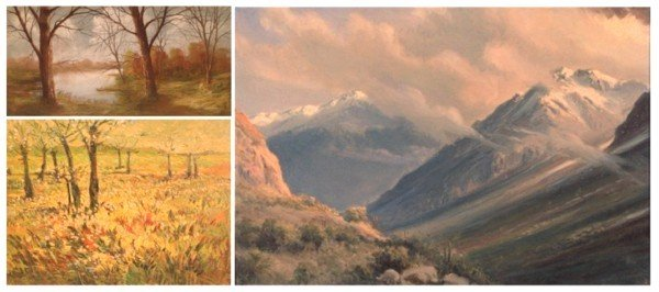 8: American Landscapes (three)