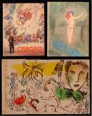 75 Books Marc Chagall with lithograph two