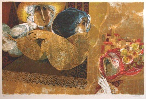 2: Sunol Alvar (b. 1935) Spanish