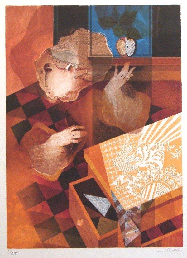 3: Sunol Alvar (b. 1935) Spanish