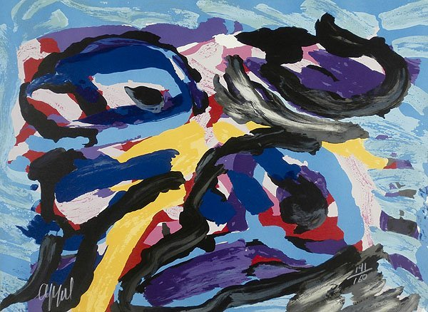 Karel Appel (1921-2006) Dutch